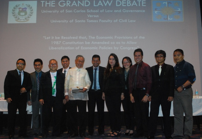 USC versus UST Grand Debate