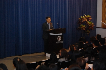 Dean Sedfrey Candelaria of Ateneo Law School