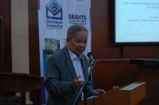 Retired Chief Justice Artemio V. Panganiban