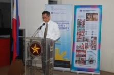 Metrobank Foundation Executive Director Mr. Nicanor L. Torres, Jr.