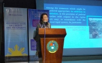 Dean Joan Sarausos-Largo of the University of San Carlos College of Law