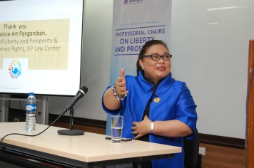 Professor Elizabeth Aguiling-Pangalangan